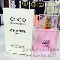 Nước hoa nữ sách tay chính hãng pháp Chanel Coco Mademoiselle 50ML