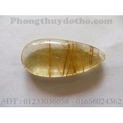 Mặt dây chyền đá thạch anh tóc vàng MS007