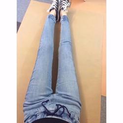 Quần jeans bo ống