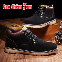 Giày Tăng Chiều Cao 7cm Thời Trang TINTO 3501DE