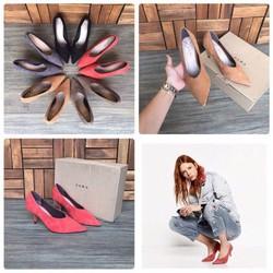 Giày cao gót giả boot