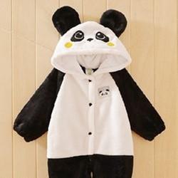 Bộ liền hình thú Con Gấu Trúc Panda