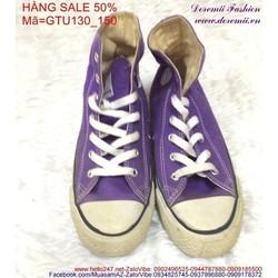 Sale off  giày thể thao nữ màu tím thời trang GTU130