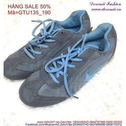 Sale off giày thể thao nữ cổ thấp phong cách năng động GTU135