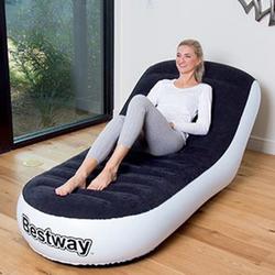 Ghế hơi kiêm giường Bestway tặng kèm bơm điện