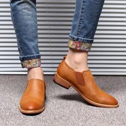 Giày lười nam tăng chiều cao 6cm, kiểu dáng Hàn Quốc- GC16