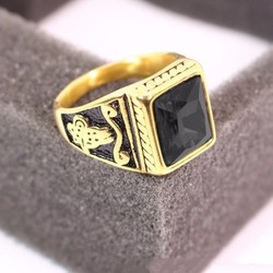 Nhẫn inox nam cao cấp đẹp phong cách Hàn Quốc N519
