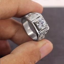 Nhẫn inox nam cao cấp đẹp phong cách Hàn Quốc N523