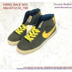 Sale off giày thể thao nữ cổ cao sành điệu GTU133