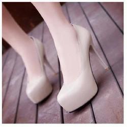 giày cao gót mũi đúp cao 12cm
