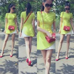 Đầm suông váy cách điệu nổi bật sành điệu eDDNC66