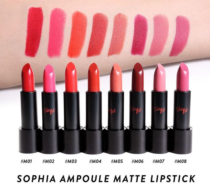 Son Sophia Ampoule Matte Lipstick 1