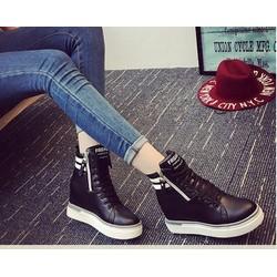 Giày boot nữ cổ cao cá tính B044D