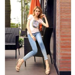HÀNG NHẬP CAO CẤP - Quần jean thời trang cách điệu IT295