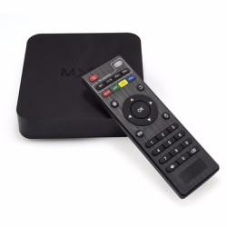 MUA 1 TẶNG 1 - Android TV Box MXQ 4K - Tặng chuột không dây RAPOO