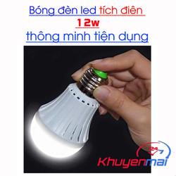 Bóng Đèn Led Tích Điện 12W Thông Minh