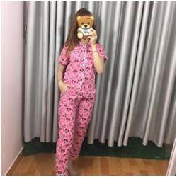 Set bộ pijama hàng Quảng Châu-GS100