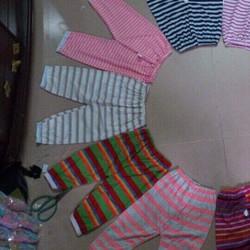 Combo 10 quần cotton cho bé - Hàng Dệt kim