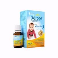 Baby Ddrops Vitamin D3 Của Mỹ 400IU hộp 90 Giọt Cho Bé Giá Tốt