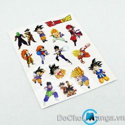 Hình Xăm Dragon Ball