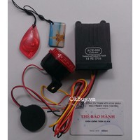 Khóa chống trộm xe máy báo động chíp ACE-036
