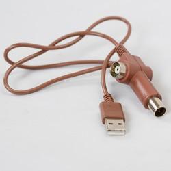 Dây cấp nguồn USB và đầu nối tín hiệu anten