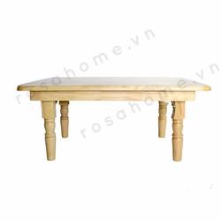 Bàn trà, bàn xếp gỗ 50 x 70 cm