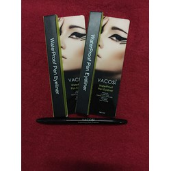 Bút kẻ mắt Vacosi WaterProof Pen Eyeliner 5ml Made in Korea