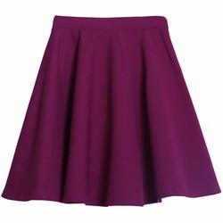 Chân váy xòe xếp ly trên gối cao cấp ZENKO CS4 CHAN VAY 007 P