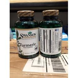TPCN hỗ trợ gan và hệ tiêu hóa Swanson Turmeric 100 viên