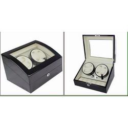 Hộp lên giây  4 chiếc đồng hồ cơ và trưng bày 6 đồng hồ quazt Mabuchi