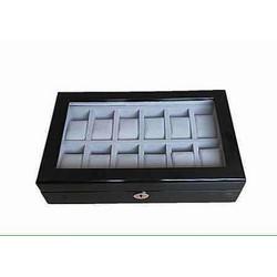 Hộp gỗ mun ,trưng bày 12 đồng hồ, HGD12
