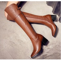Giầy boot nữ thời trang cao cấp 2016 - 3300