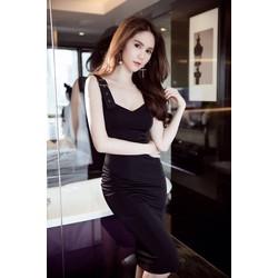 Váy ôm body đenthiết kế sang trọng tinh tế Ngọc Trinh M31020