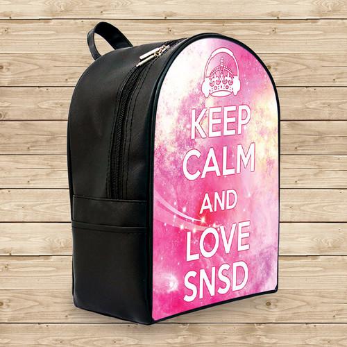 Balo keep calm and love snsd - Size Nhỏ