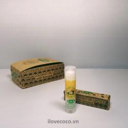 Son dưỡng môi tinh dầu dừa + sáp ong