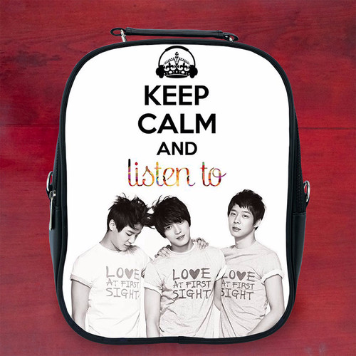 Balo keep calm and listen to k1 - Size Nhỏ
