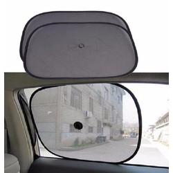 Bộ 2 màn che cửa sổ tròn cho ô tô 31,5 x 44 cm