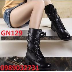 Giày bốt nữ mẫu cực HOT 2016 - GN129