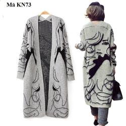 Áo khoác len cardigan nữ KN73