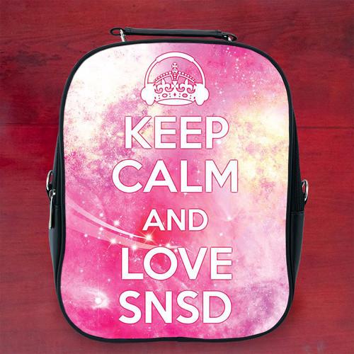 Balo keep calm and love snsd- Size Nhỏ