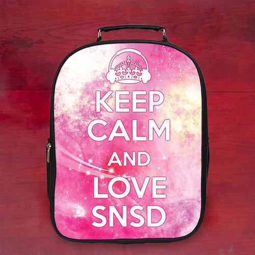 Balo keep calm and love snsd - Size Lớn