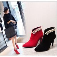Giầy boot nữ thời trang cao cấp 2016 - M803