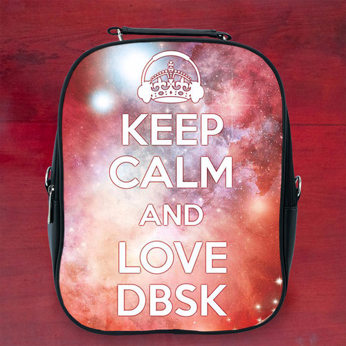 Balo keep calm and listen to dbsk k1 - Size Nhỏ