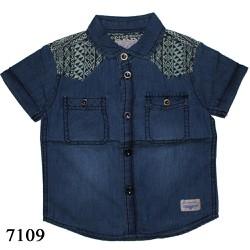 7109 Áo sơ-mi jeans bé trai m2 - Tinker Bell Kids
