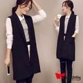 MTL - Áo khoác kiểu vest form dài