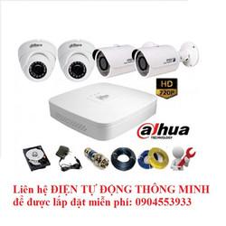 Bộ Camera HD-CVI Dahua siêu nét HD720P