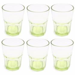 Bộ 6 ly thủy tinh màu thời trang 280ml