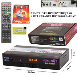 HD-789s Đầu Thu Truyền Hình Kỹ Thuật Số DVB-T2 và Karaoke Hùng Việt