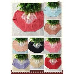 Bộ 10 Quần Lót Cotton THÁI LAN Nhiều Màu Họa Tiết Chấm Bi